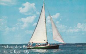 Sail Boat, RIV DU LOUP, Quebec, Canada, 40-60's