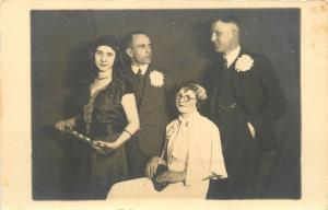 I'm Still Irritated By You~2 Gals, 2 Guys Zinzeldorf? to Erinnerung RPPC 1935