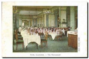 Old Postcard The Restaurant Hotel California