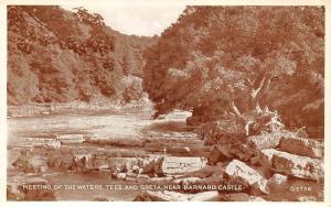 Teesdale, Meeting of the Waters Tees and Greta, near Barnard Castle