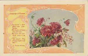 AS: Language of Flowers, Japanese Flower Poem, C. Preston-Wynne, PU-1909