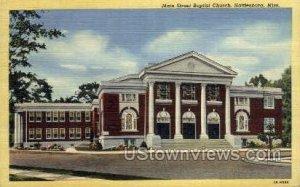 Main Street Baptist Church in Hattiesburg, Mississippi