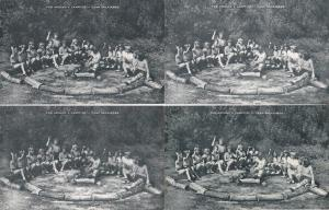 0152 Grabbag Auction 4 Scouting Scout Camp Postcards Starting At .99