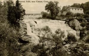 CT - Canaan. Honsatonic Falls