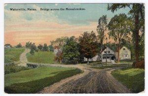 Waterville, Maine, Bridge across the Messalonskee