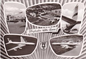 RP 5-views, jet airplanes Flughafen Koln/Bonn, Germany PU-1965