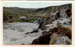 F. Jay Haynes Type A, Mammoth Hotel Valley, Yellowstone National Park