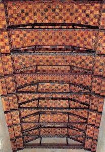 Italy Ravenna Basilica di S Francesco Decorated Wooden