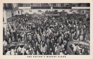 NEW YORK CITY, New York, 30-50s; Stock Exchange, The Nation's Market Place