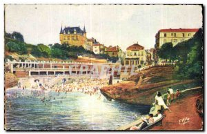 Postcard Old Ocean Pyrenees Barritz The Old Port