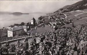 Switzerland Twann Douanne Totalansicht Photo