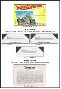 DISNEYLAND AND WALT DISNEY WORLD POSTCARD FOLDER GUIDEBOOK