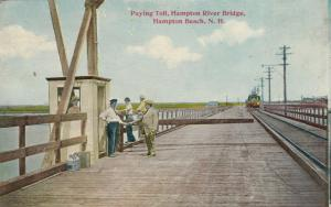 HAMPTON BEACH , New Hampshire, 1901-07 ; Paying Toll, Hampton River Bridge