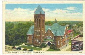 West Market M. E. Church, South Greensboro, North Carolina, PU-1939