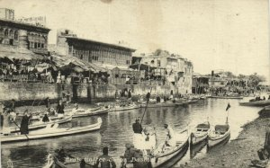PC CPA IRAQ, BASRA, ARAB COFFEE SHOPS, VINTAGE POSTCARD (b16252)
