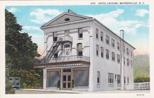 North Carolina Waynesville Hotel Lefaine