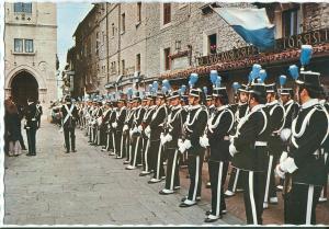 Republic of San Marino, Square of the Freedom, unused Postcard