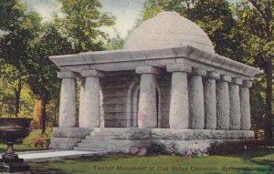 SPRINGFIELD , Illinois, 1909 ; Tanner Monument , Oakridge Cemetery