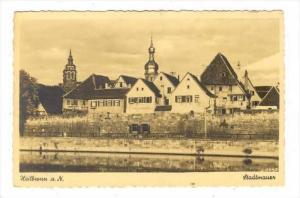 RP  Heilbronn a. N., Stadtmauer , Germany , 20-40s