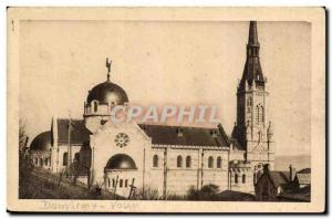 Domremy Old Postcard The National Basilica of St. Jeanne d & # 39arc View d &...