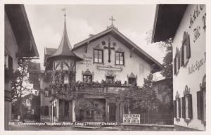 RP, Haus Anton Lang (Pension Daheim), Oberammergau, Bavaria, Germany, 1920-1940s