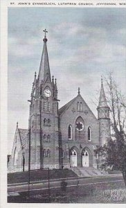 Wisconsin Jefferson St Johns Evangelical Lutheran Church