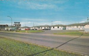 Holiday Motel, Classic Cars, LETHBRIDGE, Alberta, Canada, 40-60's