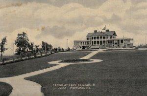 PORTLAND, Maine, 1900-10s; Casino at Cape Elizabeth