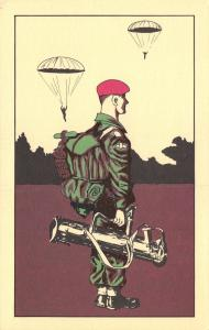 Limited Edition Postcard 1983 The British Army by Veldale #M74