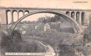 Le Pont Adolphe Writing on back