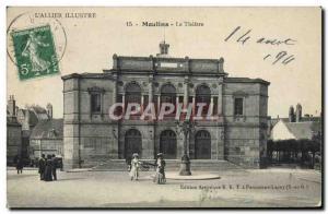 Postcard Old Mills Theater