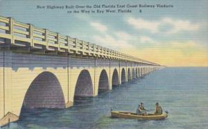 Florida New Highway Built Over Old Florida East Coast Railway Viaducts On Way...