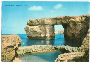 Malta, Fungus Rock, Dwejra, Gozo, used Postcard