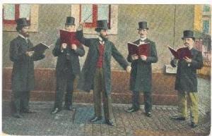 Barbershop Quartet on street corner, 00-10s
