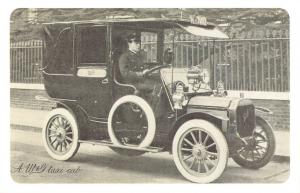 Nostalgia Postcard W&G Taxi Cab, London 1909-1912 Reproduction Card NS46