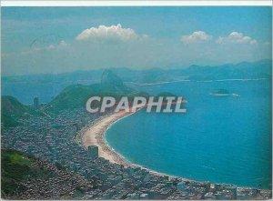 Modern Postcard Rio de Janeiro Brasil Copacobana air view