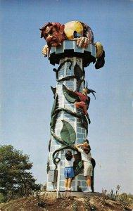 LP52    Grand Island New York Postcard Fantasy Island Jack Bean Stalk