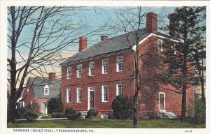 Kenmore Built 1752 Fredericksburg Virginia Curteich