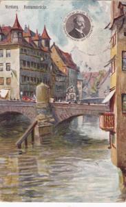 NURNBERG, Bavaria, Germany, 1925; Museumbrucke (Bridge)