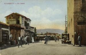 turkey, ALEXANDRETTE İSKENDERUN, Rue Hamidié (1910s) Chouha Freres No. 49