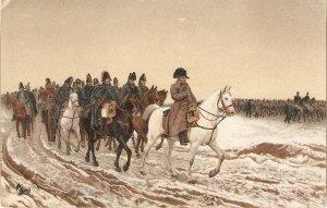 Meissonier. Napoleon in 1814. Horse Fine painting Stemgel PC# 29223