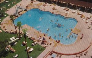 Nevada Las Vegas Riviera Hotel Swimming Pool 1957