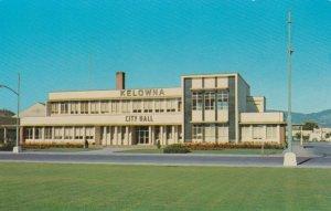 KELOWNA , British Columbia, 1950-1960s ; New City Hall