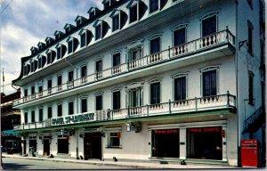 Hotel St Laurent Ste Anne De Beaupre Quebec Restaurant vtg Postcard
