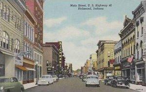 Indiana Richmond Main Street Curteich