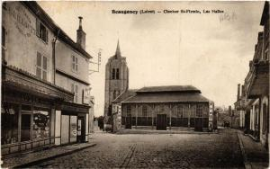 CPA BEAUGENCY Clocher St-Firmin Les Halles (607405)