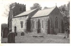 Black & White Photo Photograph Postcard Hatcliffe Church, North Lincolnshire #H