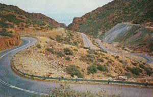 Arizona Mingus Mountain Switchbacks