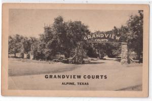 Grandview Courts, Alpine TX