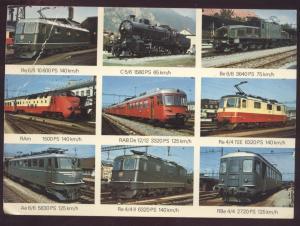 Swiss Schweizer Trolley Street Cars Tramways Train Locomotive Switzerland